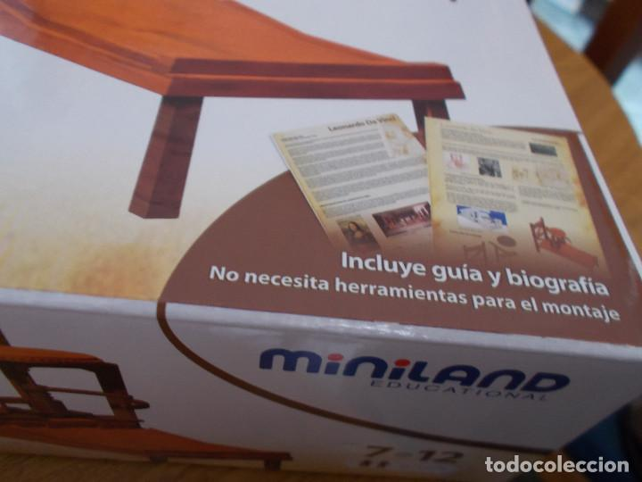 Maquetas: COLECCION DE INVENTOS DE LEONARDO DAVINCI DE LA CASA MINILAND DE ONIL - Foto 11 - 127790524