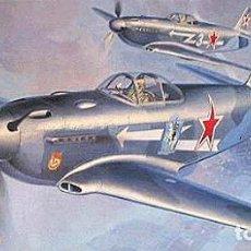 Maquetas: MAQUETA DEL CAZA SOVIÉTICO YAKOVLEV YAK-3 DE HASEGAWA A ESCALA 1/72. Lote 63369596