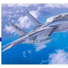 Maquetas: MAQUETA DEL CAZABOMBARDERO GRUMMAN F-14A (BAJA VISIBILIDAD) DE HASEGAWA A ESCALA 1/72. Lote 63370112