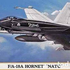 Maquetas: MAQUETA DEL CAZA NORTEAMERICANO MCDONNELL DOUGLAS F/A-18A HORNET DE HASEGAWA A 1/72. Lote 63370596