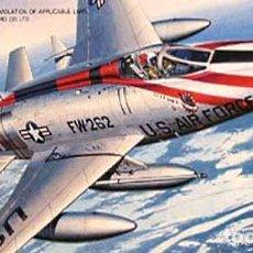 Maquetas: MAQUETA DEL CAZA NORTH AMERICAN F-100D SUPER SABRE DE HASEGAWA A 1/72 (OCASIÓN). Lote 63371456
