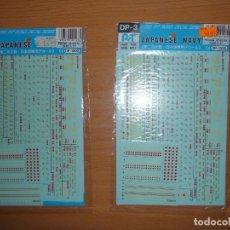 Maquetas: PEGATINAS PARA BARCOS, 1/700. Lote 63437820