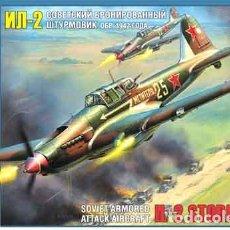 Maquetas: MAQUETA DEL CAZACARROS ILYUSHIN IL-2 STORMOVIK MOD. 1942 DE ZVEZDA A 1/72. Lote 64358315