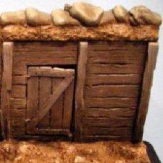 Maquetas: HISTOREX NEMROD 029 TRINCHERA CON PUERTA WW1 1/35 KIT DE RESINA. Lote 64824835