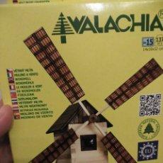 Maquetas: MAQUETA DE MADERA DE UN MOLINO. WALACHIA. Lote 66124718