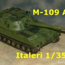 Maquetas: 1/35 M-109 A4 ESPAÑOL, 1/35 ITALERI. Lote 67018574