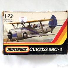 Maquetas: CURTISS SBC-4 MODEL 77B HELLDIVER AVIÓN BOMBARDERO MAQUETA U.S. NAVY MARINE CORPS MATCHBOX 1/72. Lote 67064226