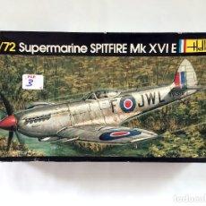 Maquetas: SUPERMARINE SPITFIRE MK XVI E RAF AVIÓN CAZABOMBARDEROS INTERCEPTOR FOTORRECONOCIMIENTO HELLER 1/72. Lote 67064346