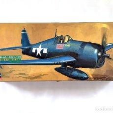 Maquetas: GRUMMAN F6F-375 HELLCAT U.S.NAVY CARRIER-BASED FIGHTER WWII SEGUNDA GUERRA MUNDIAL WW2 HASEGAWA 1/72. Lote 67064978