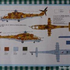 Maquetas: MAQUETA HELICOPTERO ITALERI, ESCALA 1/72, MIL MI-24 HIND-D. Lote 67357297