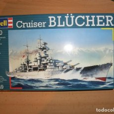 Maquetas: CRUCERO BLUCHER , 1/700. Lote 67806377