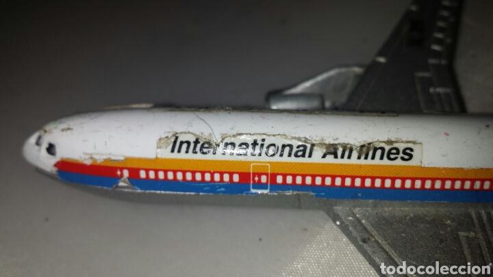 Maquetas: Maqueta AVIÓN a escala en metal y plástico. INTERNATIONAL AIRLINES IL 26. CIRCA 1960 13 x 11 cm - Foto 5 - 67849441