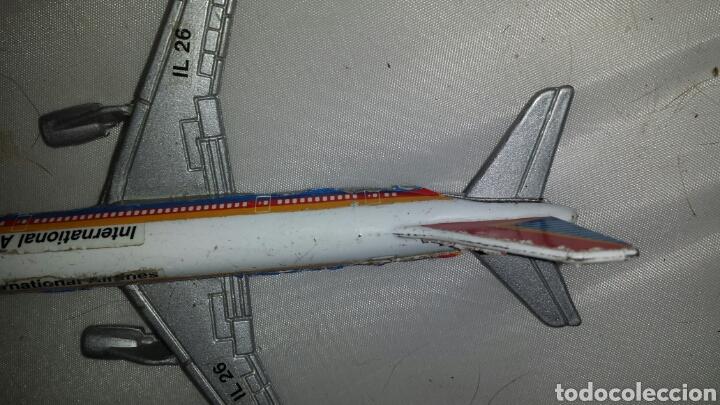 Maquetas: Maqueta AVIÓN a escala en metal y plástico. INTERNATIONAL AIRLINES IL 26. CIRCA 1960 13 x 11 cm - Foto 7 - 67849441
