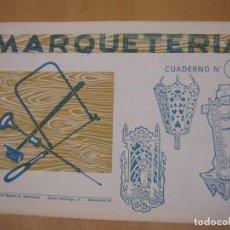 Maquetas: MARQUETERÍA- CUADERNO Nº 8 - SALVATELLA. Lote 68044549