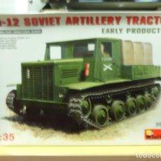 Maquetas: YA-12 SOVIET ARTILLERY TRACTOR 1/35 MINIART. Lote 68483109