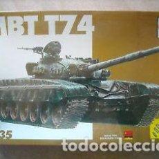 Maquetas: ESCI - MBT T-74 REF 5024 1/35. Lote 68703973