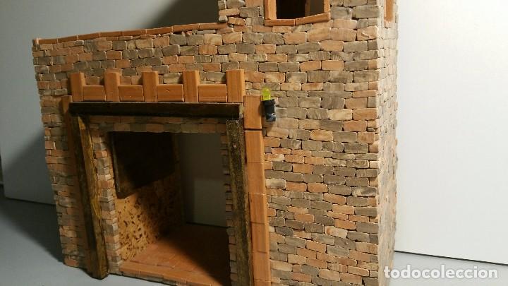 Maquetas: Edificio para Pesebre o Belén. Navidad - Foto 6 - 69456041