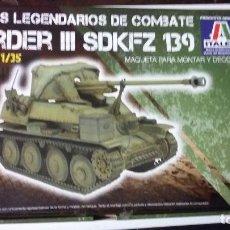 Maquetas: MARDER III SDKFZ 139, ITALERI 1/35. Lote 69501225