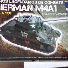 Maquetas: SHERMAN M4A1, ITALERI 1/35. Lote 69501273