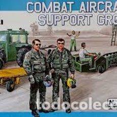 Maquetas: COMBAT AIRCRAFT SUPPORT GROUP 1/48 ITALERI. Lote 155695317