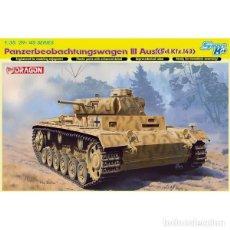 Maquetas: PANZERBEOBACHTUNGSWAGEN III AUSF.F SD.KFZ.143 1/35 DRAGON. Lote 69955621
