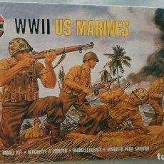 Maquetas: WWII USA MARINES,AIRFIX,ESCALA 1:72 SOLDADOS. Lote 69966009