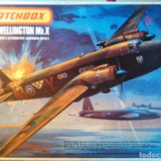 Maquetas: MAQUETA DEL AVIÓN WELLINGTON MK.X.1:72,MATCHBOX SCALE KIT PK-402.1975.LESNEY PRODUCTS.AEROMODELISMO.. Lote 70511385