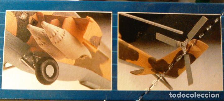 Maquetas: Maqueta del helicóptero de combate Mil Mi-24 D Hind a escala 1:100 de Revell. 1990. Militar. 18,5cm. - Foto 5 - 70568469