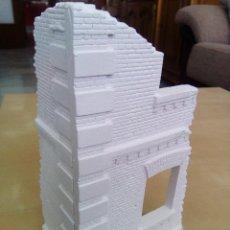 Maquetas: WWII FACHADA ESQUINA EDIFICIO RUINAS DIORAMA 1/35 BUILDING RUINS BASE. Lote 71310687