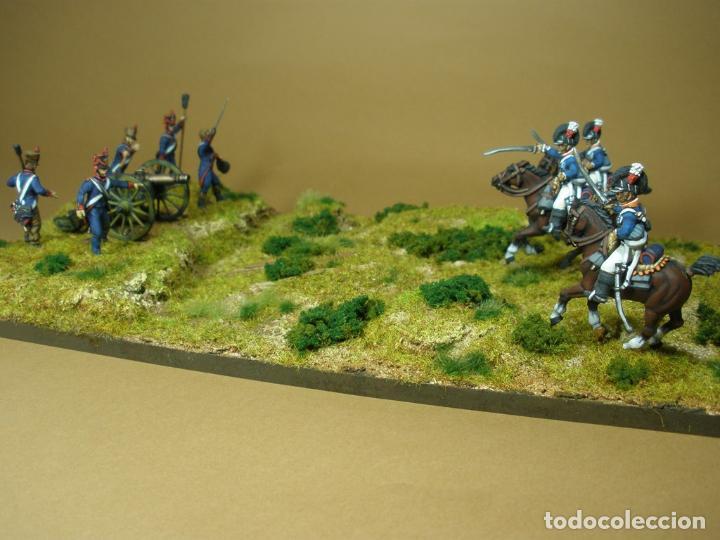 Maquetas: Diorama de la batalla de Talavera. Pintados a mano. Plastico duro. 28 mm - Foto 2 - 70439997