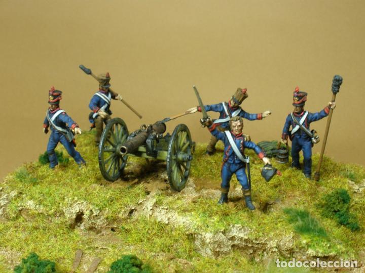 Maquetas: Diorama de la batalla de Talavera. Pintados a mano. Plastico duro. 28 mm - Foto 3 - 70439997