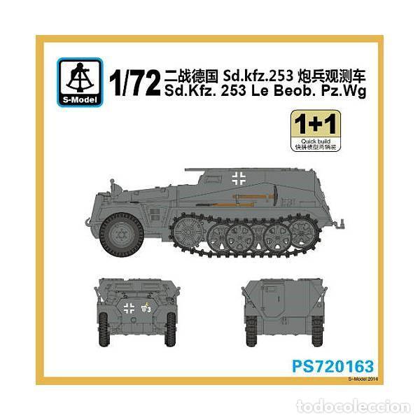 S-model 1//72 Sd Kfz 253 Le Beob PZ WG 2 kits par boîte