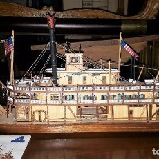 Maqueta del barco KING OF THE MISSISSIPPI.