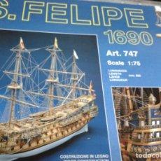 Maquetas: KIT SAN FELIPE COMPLETO Y NUEVO. Lote 135360093