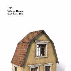 Maquetas: WWII VILLAGE HOUSE CASA CAMPO MINIART 1/35 DIORAMA RUINS BUILDING. Lote 74616975