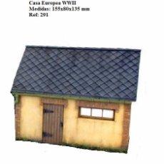 Maquetas: WWII CASA EUROPEA MINIART 1/35 DIORAMA RUINS BUILDING HOUSE. Lote 74791799