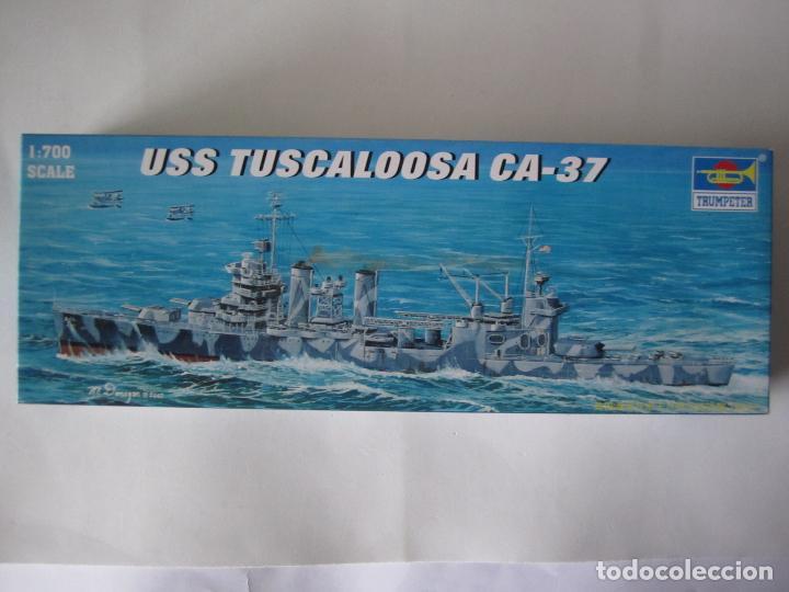 MAQUETA BARCO – USS TUSCALOOSA CA-37 – N. 05745 ESCALA 1 / 700 MARCA TRUMPETER (Juguetes - Modelismo y Radiocontrol - Maquetas - Barcos)
