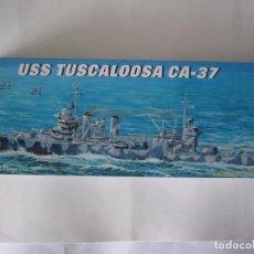 Maquetas: MAQUETA BARCO – USS TUSCALOOSA CA-37 – N. 05745 ESCALA 1 / 700 MARCA TRUMPETER. Lote 74868723