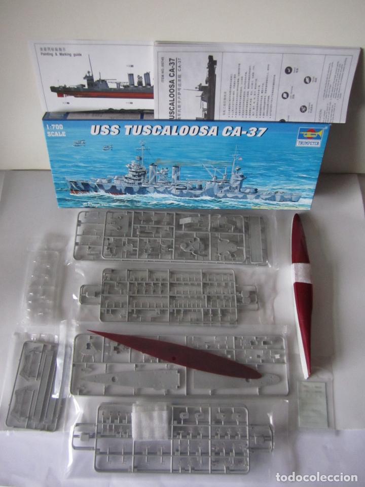 Maquetas: MAQUETA BARCO – USS TUSCALOOSA CA-37 – N. 05745 ESCALA 1 / 700 MARCA TRUMPETER - Foto 2 - 74868723