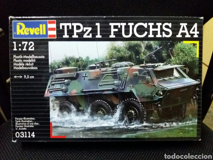 MAQUETA TPZ1 FUCHS A4 1:72, REVELL (Juguetes - Modelismo y Radiocontrol - Maquetas - Militar)