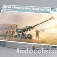 Maquetas: TRUMPETER - M198 155MM MEDIUM TOWED HOWITZER REF 2319 1/35. Lote 75231079