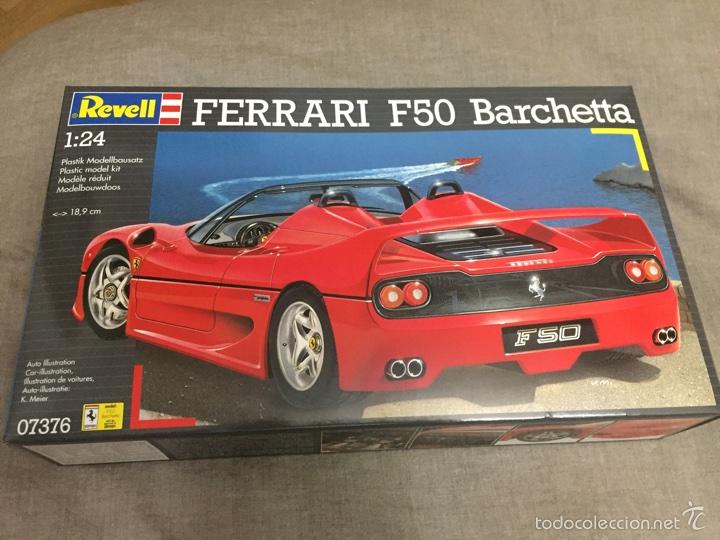 FERRARI F50 BARCHETTA 1:24 REVELL 07376 MAQUETA VEHICULO COCHE (Spielzeug - Modellbau und Funksteuerung - Modelle - Autos und Motorräder)