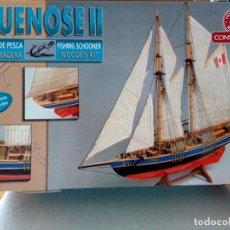 Maquetas: GOLETA DE PESCA CANADIENSE. BLUNOSE II. KIT NUEVO. Lote 75723387