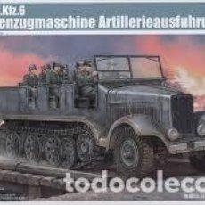 Maquetas: TRUMPETER - GERMAN SD.KFZ.6 HALBKETTENZUGMASCHINE ARTILLERIEAUSFUHRUNG 5531 1/35. Lote 75727715