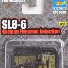 Maquetas: TRUMPETER - SL8-6 GERMAN FIREARMS SELECTION 521 1/35. Lote 75746323