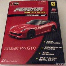 Maquetas: MAQUETA FERRARI 599 GTO PRECINTADA 1/43. Lote 75911253