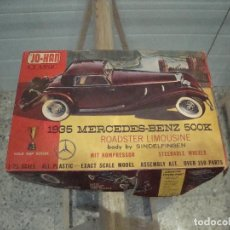 Maquetas: INTERESANTE MAQUETA COCHE MERCEDES BENZ 500K 1935 FABRICADO POR JO HAN LEER. Lote 76515743