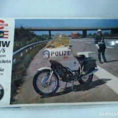 Maquetas: MAQUETA BMW R 75/5 DE POLICIA. DE REVELL - CONGOST. NUEVA, SIN ABRIR Y PERFECTAMENTE RETRACTILADA. . Lote 76726135