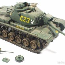 Maquetas: MAQUETA CARRO M-48, VIETNAM, 1/35, ACADEMY, INCOMPLETO. Lote 118952652