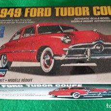 Maquetas: FORD TUDOR COUPE 1949 – LINDBERG. Lote 77328665
